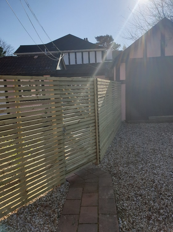 Garden Fence Installation Cost