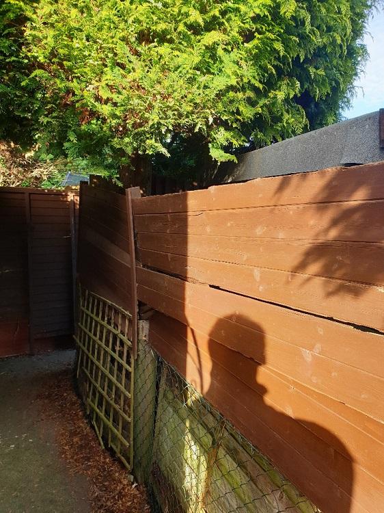 tierd fence