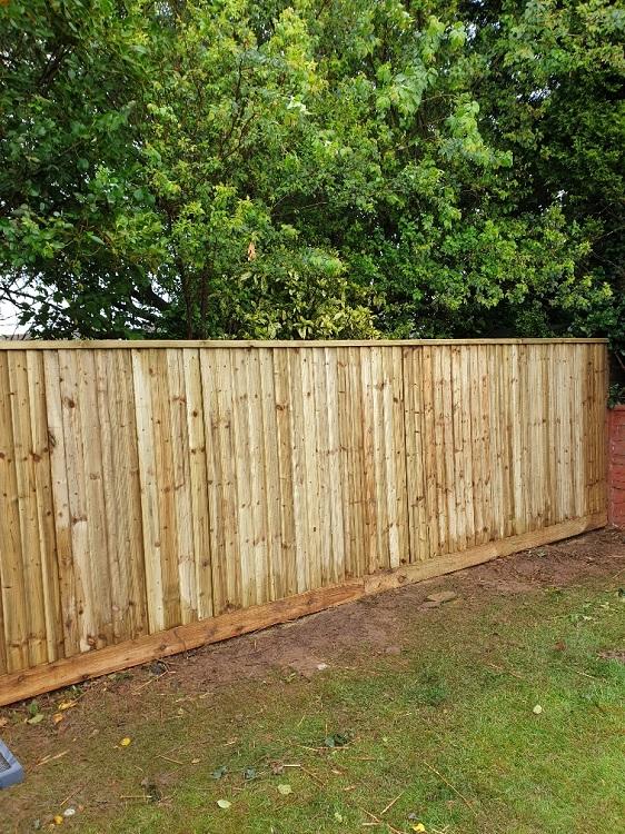Garden Fencing Bristol panels and posts