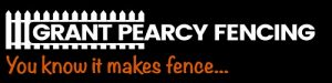 Grant Pearcy Fencing logo
